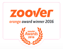Zoover orange award winner 2016